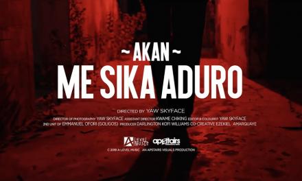 Watch: Akan Releases Phenomenal Video to ME SIKA ADURO