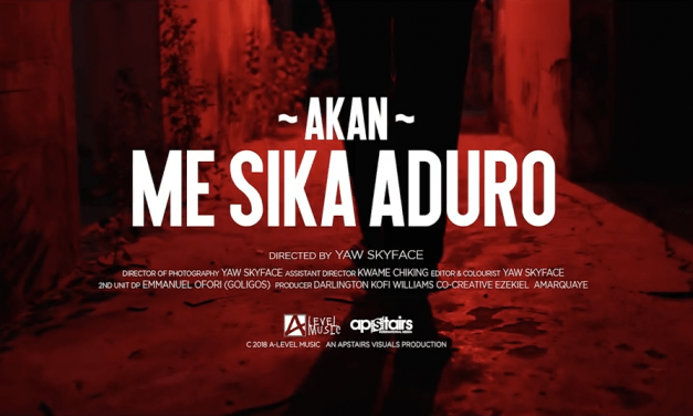 Watch: Akan Releases Phenomenal Video to ME SIKA ADURO