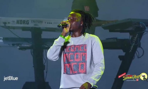 Stonebwoy defends Dancehall and Afrobeats at Reggae Sumfest