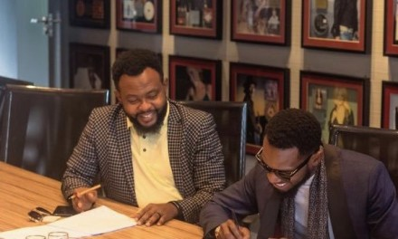 D'banj signs music deal with Sony Music Africa