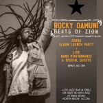 "Rocky Dawuni holds ""Beats Of Zion"" Concert on March 23 at +233 Jazz Bar & Grill"