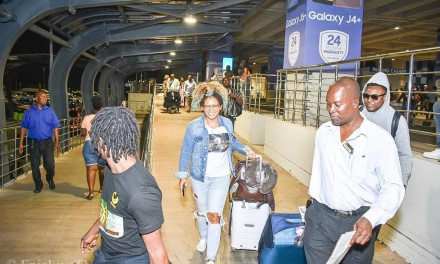 Natel and ZJ Sparks safely in Ghana for JaGhafest 2019